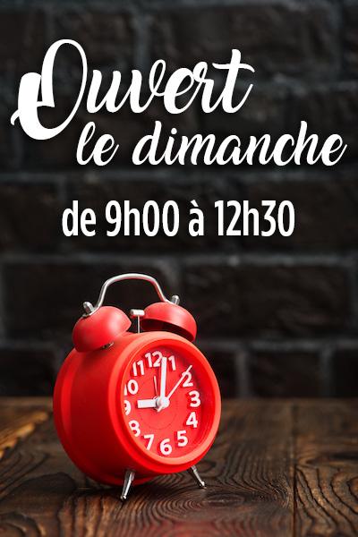 Clock - Super Grande Boucherie