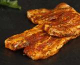 lard mariné copie 160x130 - Saucisse BBQ