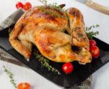 poulet roti 160x130 - Menu de la Cour à plumes (Pâques)