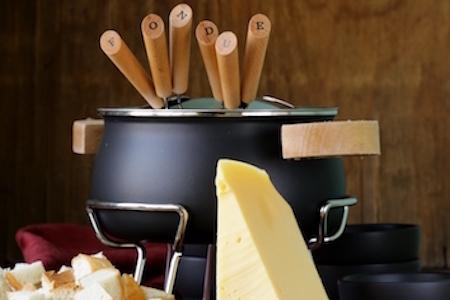 special set of utensils for fondue PB8CMZM - Colis Savoyard