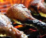 grilled chicken leg P7HRCPM 160x130 - Brochette de porc maison (oignons - poivrons)