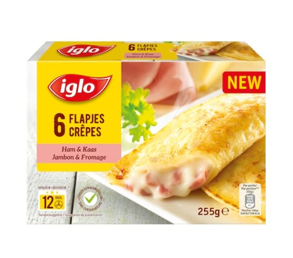 Crepes Jambon Fromage 255g 570x503 - Crêpes jambon et fromage