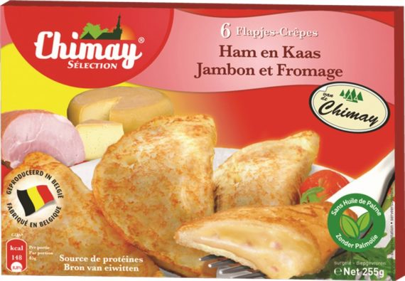 chimay crepes jamb f 255gr 570x395 - Crêpes jambon fromage