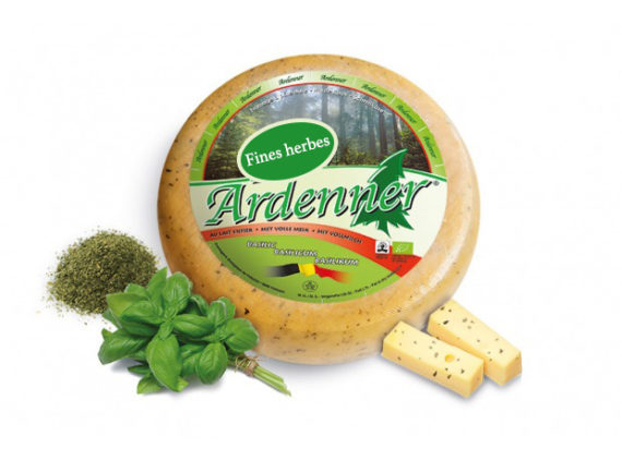 Fromage 570x423 - Fromage Fleur des Ardennes aux fines herbes