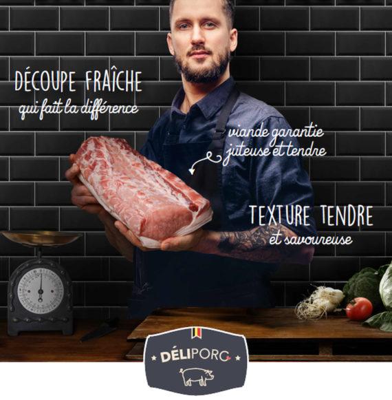 Visuals Deliporc A4 slager FR 570x581 - Demi porc DéliPorc (+- 40Kg)