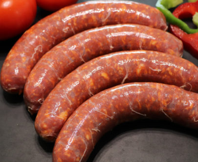 saucisse fraiche au chorizo 405x330 - Saucisse au Chorizo