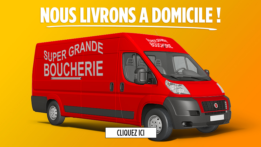 Banner Truck - Super Grande Boucherie