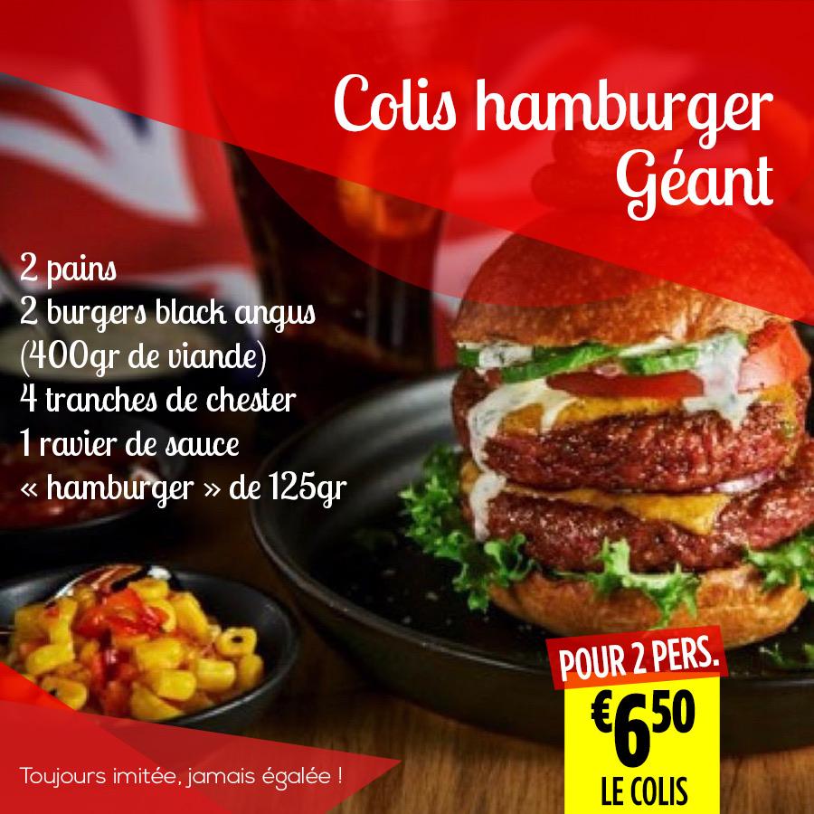 10.Colis HAMBURGER - Super Grande Boucherie