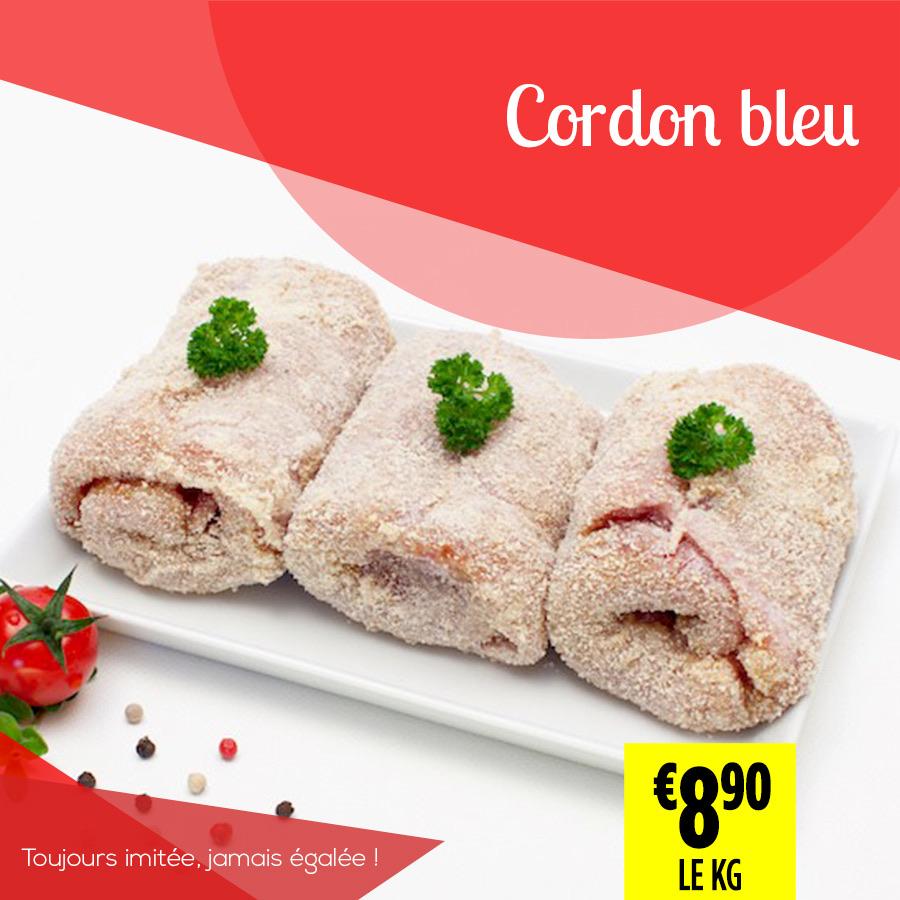 Cordon bleu - Super Grande Boucherie