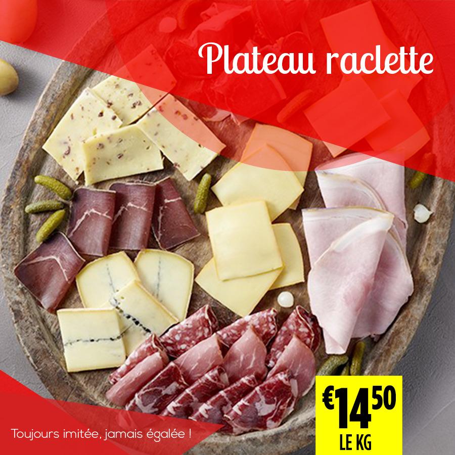 plateau raclette - Super Grande Boucherie