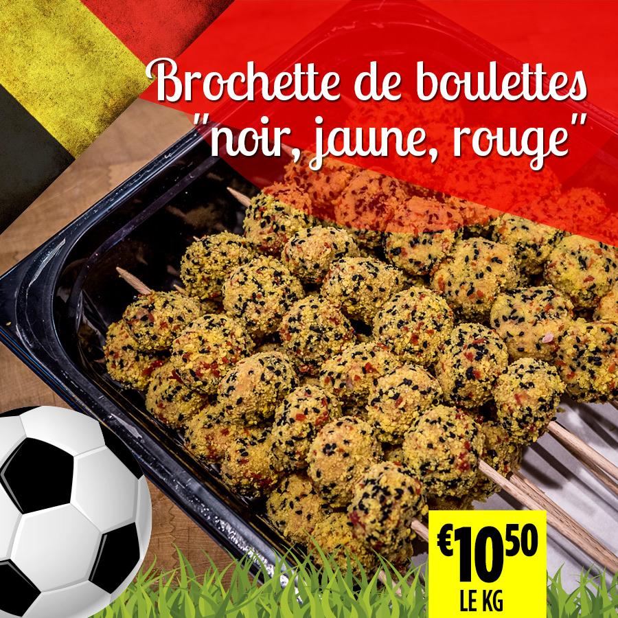 Brochette boulettes 1 - Super Grande Boucherie