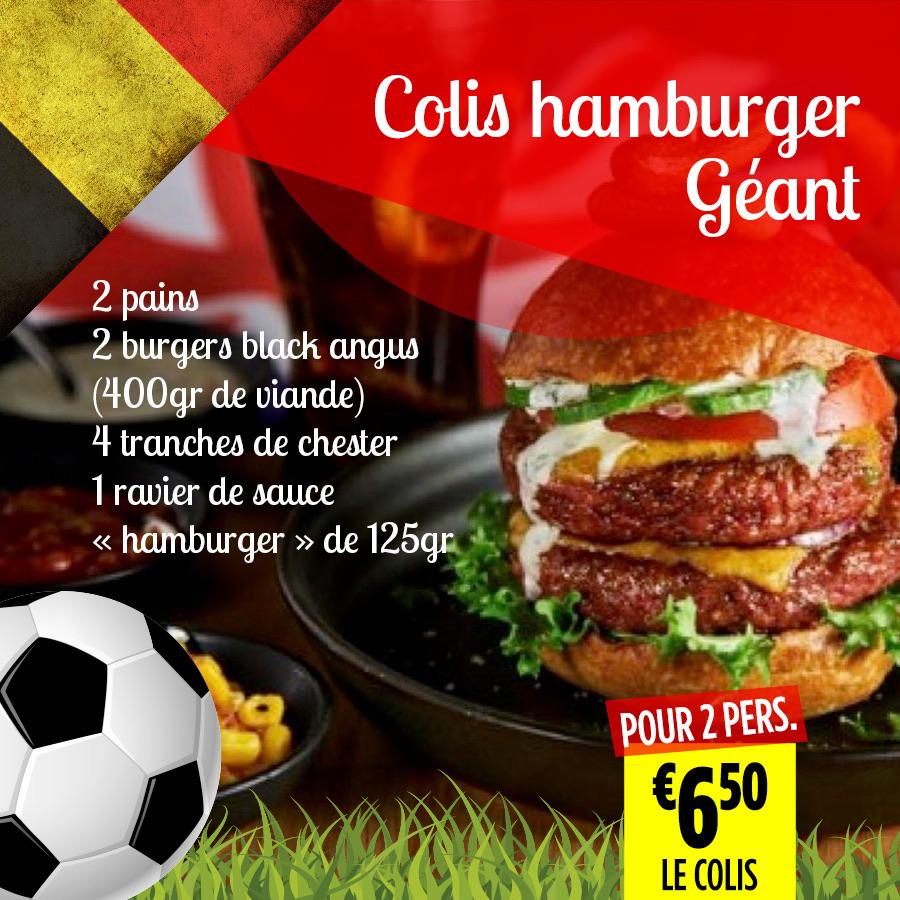 Colis hamburger - Super Grande Boucherie