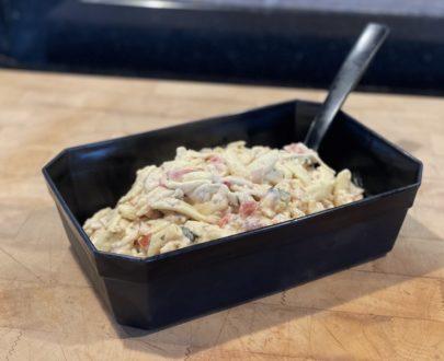IMG 8646 405x330 - Pennes au poulet sauce Caesar (250gr)