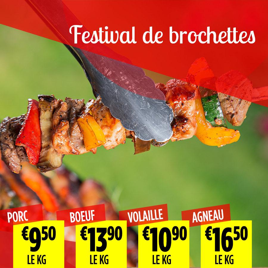 4.Festival brochettes - Super Grande Boucherie