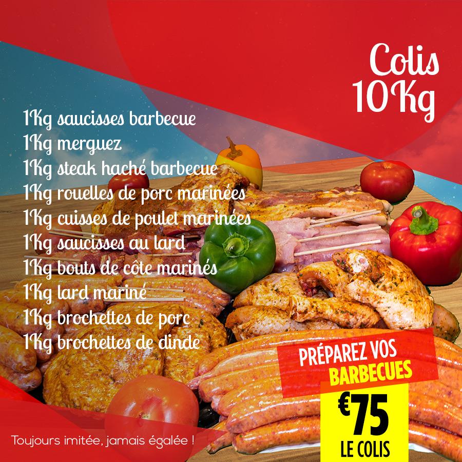 Colis 10Kg - Super Grande Boucherie